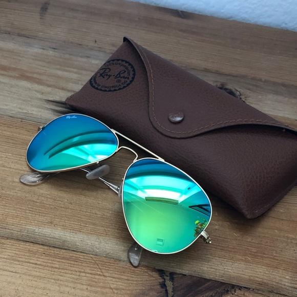 Ray Ban Green Lenses